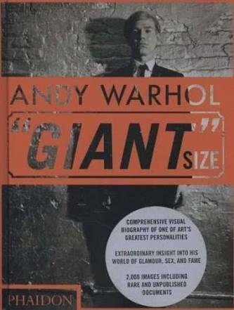 Livro Andy Warhol Giant Size Da Phaidon