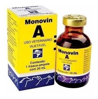 Monovin A 20ml Original Vitamina A Crescer Cabelo