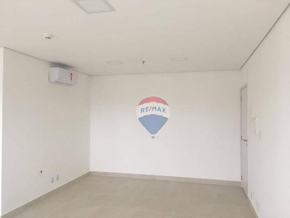 Sala Para Alugar, 38 M² Por R$ 2.000/mês - Vila Partenio - Mogi Das Cruzes/sp - Sa0054