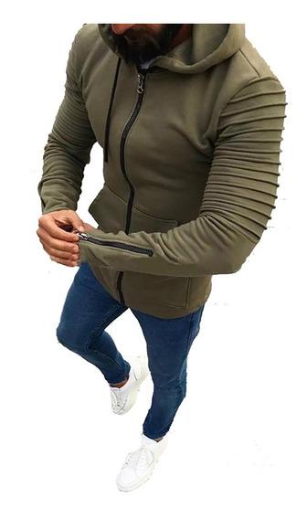 Buzo Campera Hoodies Entallada Hombre Modelo Importado A03