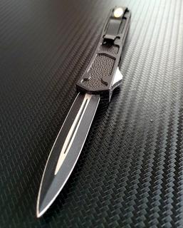 Canivete Saque Rápido Automático Com Quebra Vidro Mafia Anos 80 Aço 7306 - Aqui Com Nota Fiscal Eletrônica