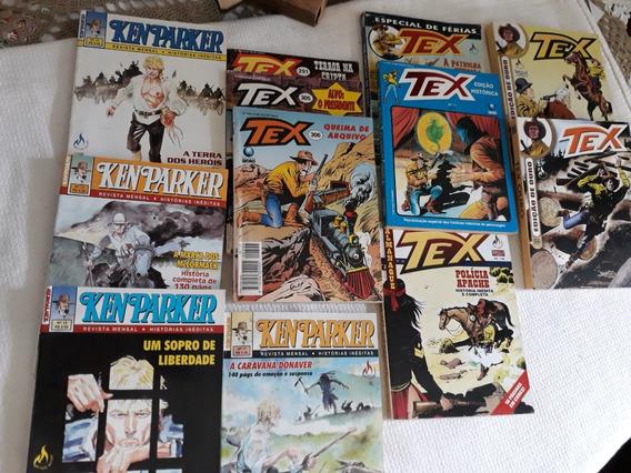 8 Tex 4 K.parker Bom Estado Leia Descrição