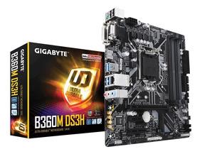 Placa-mãe Gigabyte B360m Ds3h Intel Lga 1151 Ddr4 8°geração
