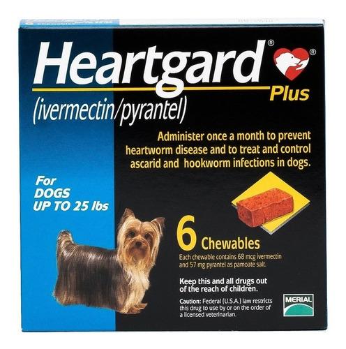 Imagen 1 de 1 de Desparasitante Frontline Heartgad Plus Merial Perro Hasta 11kg