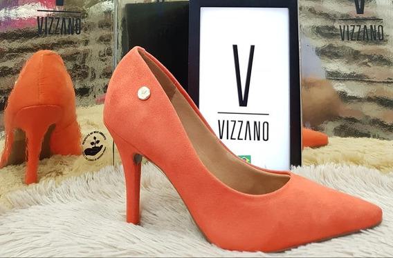Stilettos Naranja Taco Luis Xv
