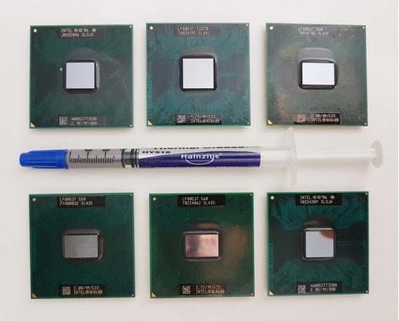 Lote 6 Processadores Intel Para Notebook + Brinde
