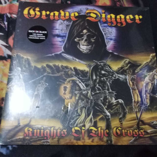 Grave Digger - Knights Of The Cross, Vinilo Doble
