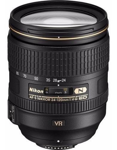 Objetiva Nikon 24-120mm F/4g Ed Vr Fx - Temos Loja