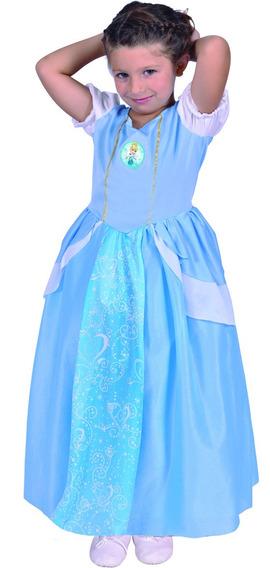 Disfraz De Cenicienta Con Luz Tallle 0 Original Disney