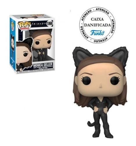 Boneco Pop Funko Friends Monica Geller As Catwoman #1069