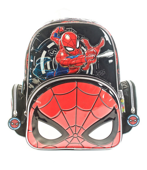 Mochila Spiderman Go Spidey Espalda 12 Original