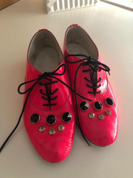 Zapato Jamin Chebar Con Apliques