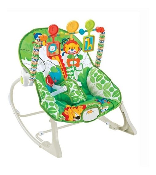 Silla Mecedora Bebe Con Vibracion 0 A 18 Kg Cici Babymovil