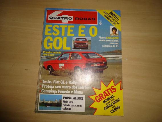 Revistas Quatro Rodas Nº.238,242,243,244,ano 80 Envio Grátis