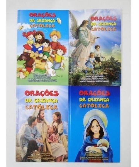 Livro Orações Da Criança Católica - 04 Capas Diferentes