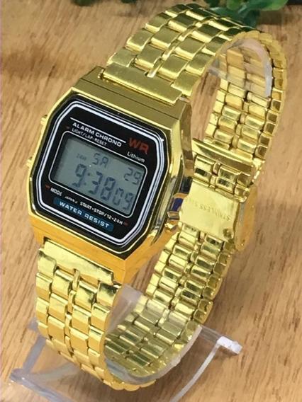 Relógio Vintage Pulso Retro Barato Dourado Prata Rose