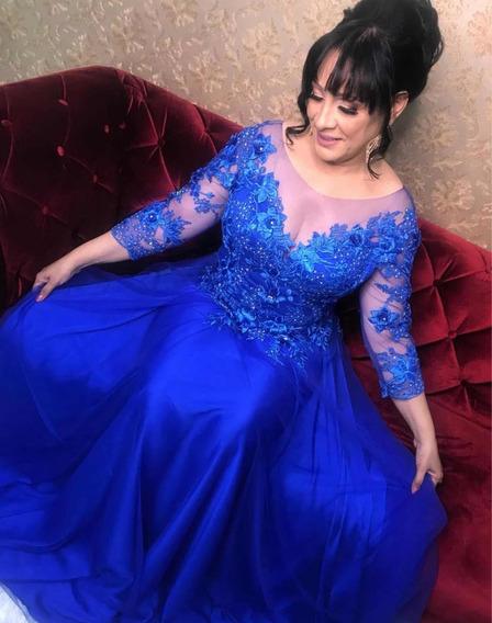 Vestido De Festa Usado Uma Vez, Super Lindo Veste Tam 44