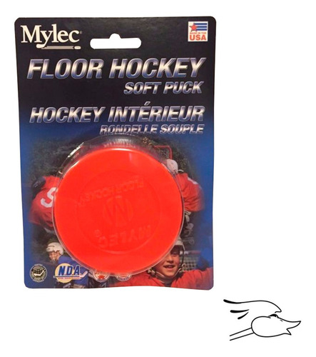 Puck Mylec Indoor Orange