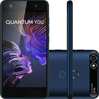 Smartphone Quantum You 32gb 3gb Ram Câmera 13mp Azul + Nf
