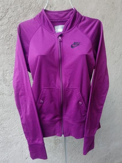 Nike Sudadera Chamarra Chaqueta Chica 4-6 Morado Sportswear