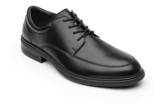 Zapato Cerrado Vestir Caballero 91408 Flexi Negro