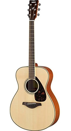 Yamaha Fs820 Small Body Solid Top Guitarra Acustica Natural