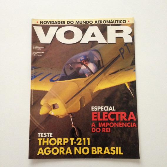 Revista Internacional De Aviação Voar Especial Electra F99
