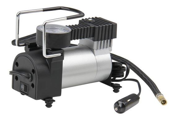 Mini Compressor Ar 140psi 12v Pneu Geral Carro Moto Bola
