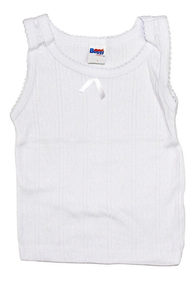 Set De 5 Camiseta Interior Para Niña Marca Buggy #1 A #8 Años