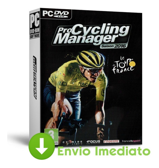 Pro Cycling Manager Season 2016 Pc Simulador Bike Completo