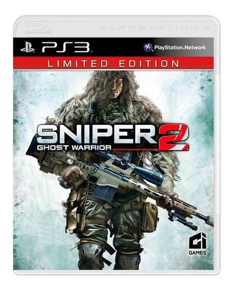Jogo Para Ps3 Sniper 2 Limited Edition
