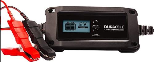 Cargador Baterias + Mantenedor Inteligente 4 Amp 12/6 Volt