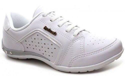 Tenis Casual Kolosh Feminino Sapatenis C0628a Branco