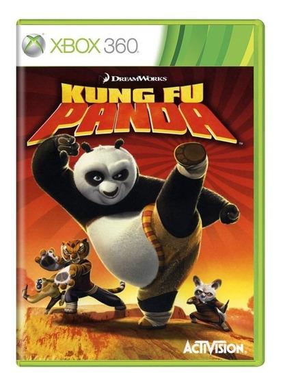 Kung Fu Panda Xbox 360   Mídia Física Sem Caixinha