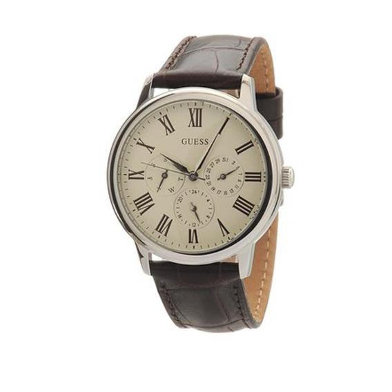 Modelo Varon Reloj Guess W70016g2 - Cafe