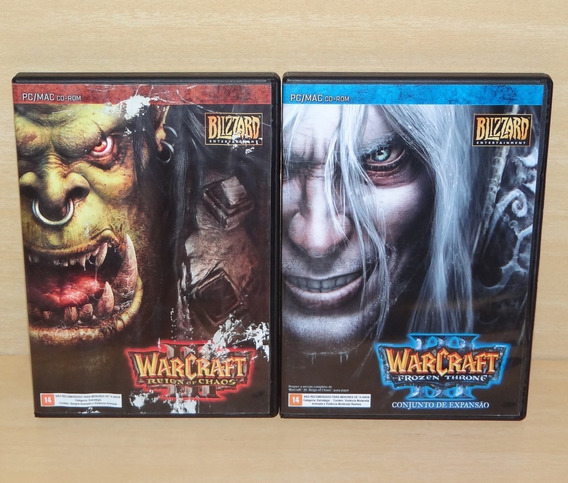 Warcraft Iii 3 - Reign Of Chaos + The Frozen Throne - Pc