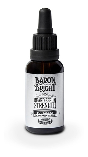 Aceite Serum Para Barba - Baron Bright- Fortalecedor - 30ml