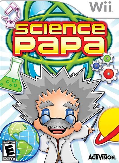 Jogo Lacrado Midia Fisica Science Papa Para Nintendo Wii