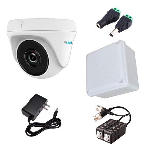 Cámara Hikvision Hilook 1080p Domo 4 En 1 + Accesorios