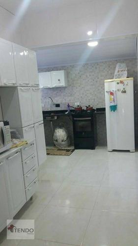 Imagem 1 de 15 de Casa Com 2 Dormitórios À Venda, 195 M² Por R$ 215.000 - Jardim Revista - Suzano/sp - Ca0357