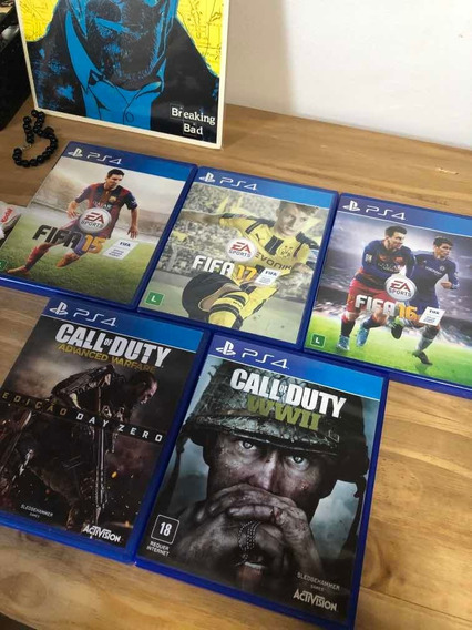 5 Jogos De Ps4 Para Colecionadores Fifa, Call Of Duty