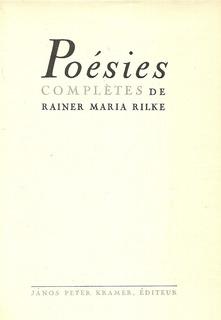 Rainer Maria Rilke Poemas Franceses Libros Revistas Y