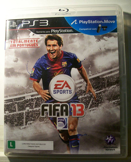 Fifa 2013, Jogo Para Playstation 3, Original
