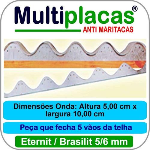 Placa Anti Maritacas Amianto 5/6 Mm 1 Mt Kit 20 Peça(s)