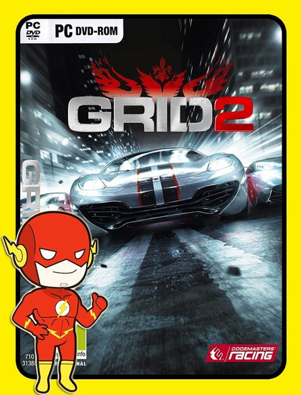 Grid 2 Pc - Steam Key (envio Flash)