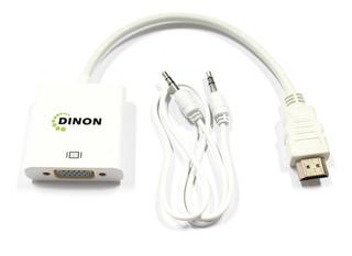 Conversor De Video Hdmi A Vga + Audio 3.5mm Ev9297