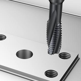 Macho Maquina De Metal Duro 01 Unidade