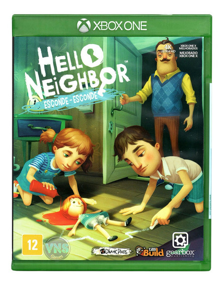 Hello Neighbor Esconde-esconde - Xbox One - Mídia Física