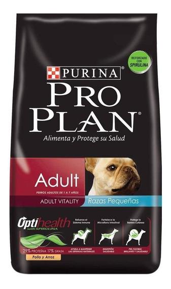 Ração Pro Plan Adult cachorro adulto raça pequena frango/arroz 1kg