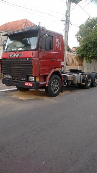 Scania R 142 Hs Trucado Ano 1987